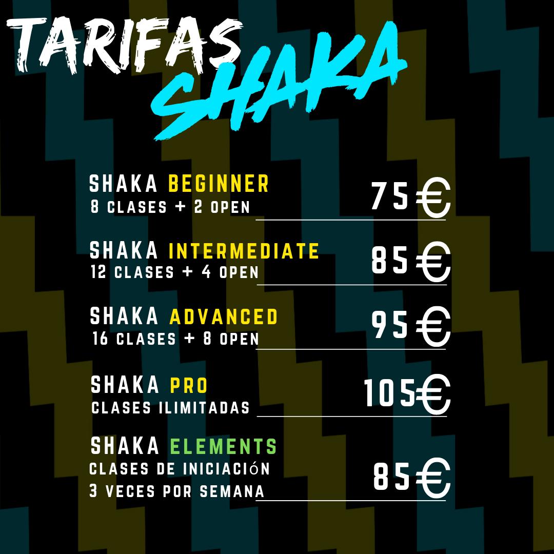 Shaka CrossFit Madrid tarifas